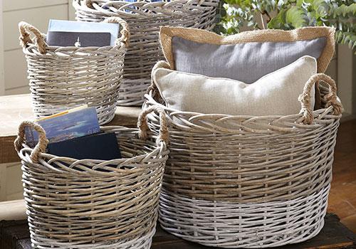 Плетени кошници
