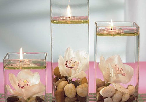 Свещници и свещи