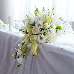 Аранжиране и украса на сватбени тържества