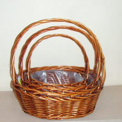 Плетени кошници единични бройки
