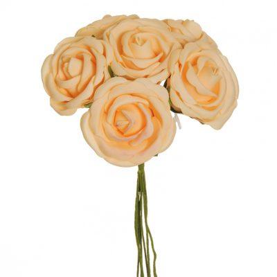 Рози D=6.5см.