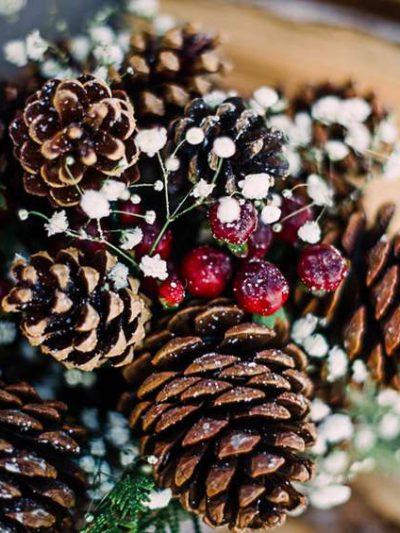 Декоративен сняг ,Брокат и Чинии